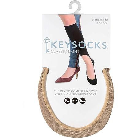 KEYSOCKS Classic Light No-Show Knee High Socks Phenomenon