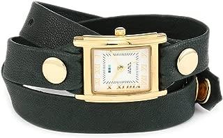 La Mer Collections Women's LMSTW9007 Simple Wraps Emerald Simple Case Watch