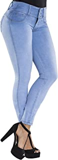 High Waisted Butt Lifting Stretch Jeans | Slimming Lift Skinny Jeans 837