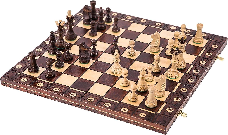 la mejor selección de Square - Ajedrez de de de Madera - Consul Lux - 48 x 48 cm - Piezas de ajedrez & Tablero de ajedrez  precios al por mayor