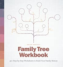 Family Tree Workbook: 30+ Step-by-Step Worksheets to Build Your Family History PDF