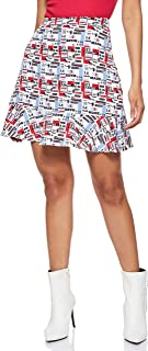 Tommy Hilfiger Women's 2724564359-Multicolored A-Line