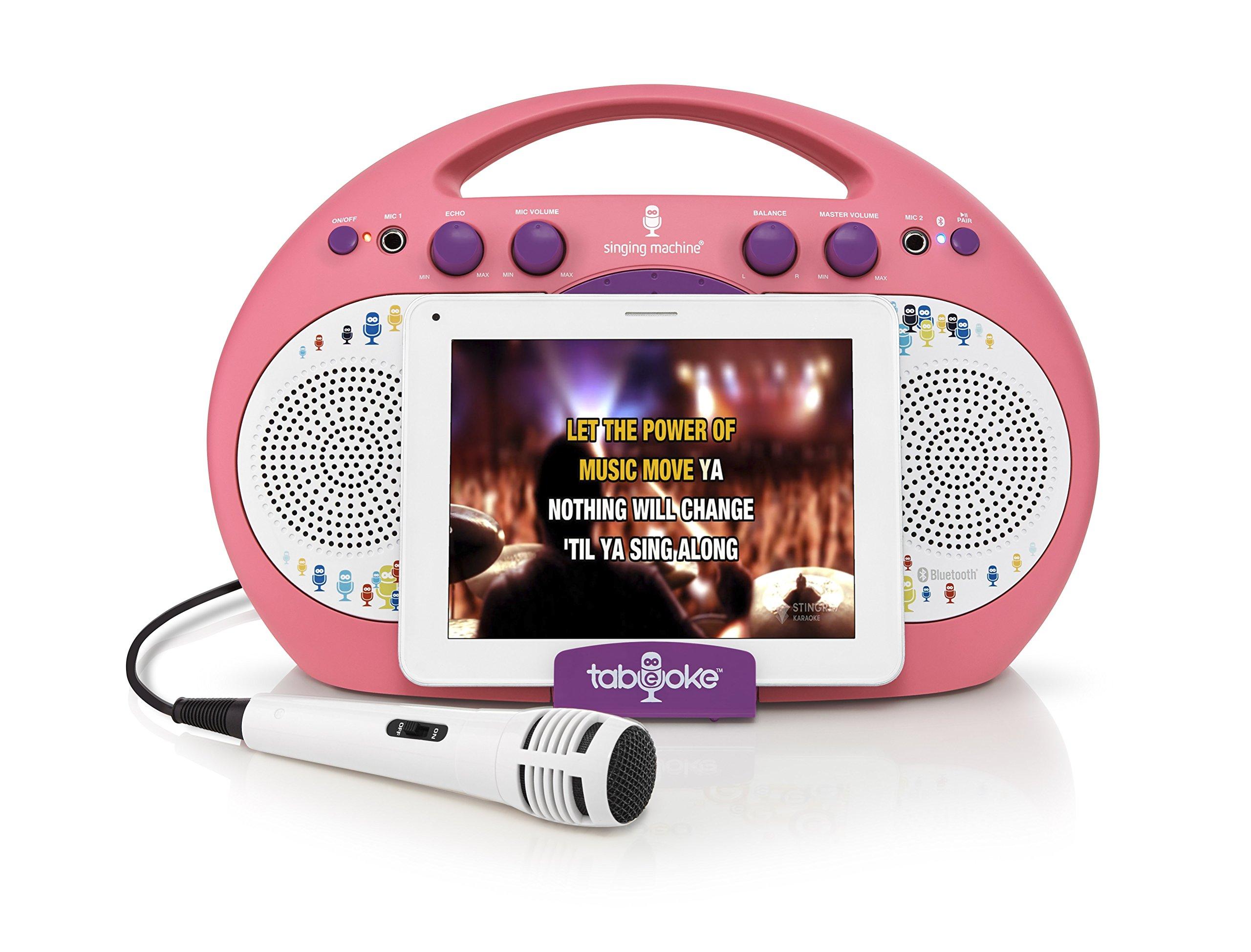 Singing Machine ISM398PP Karaoke System