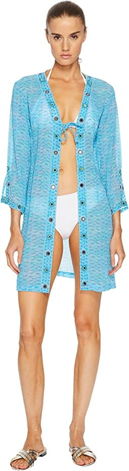 Letarte - Printed Dress Cover-Up