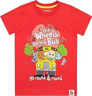 Cocomelon Jongens T-Shirt Wheels On The Bus