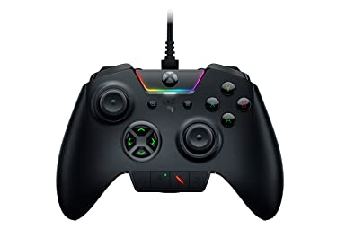 Razer Wolverine Ultimate Officially Licensed Xbox One Controller: 6 Remappable Buttons and Triggers - Interchangeable Thumbsticks and D-Pad - For PC, Xbox One, Xbox Series X & S -  Black