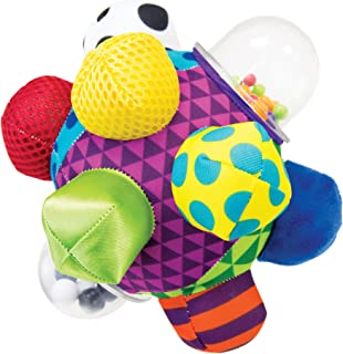 Sassy Developmental Bumpy Ball | Easy to Grasp Bumps Help Develop Motor Skills | for Ages..