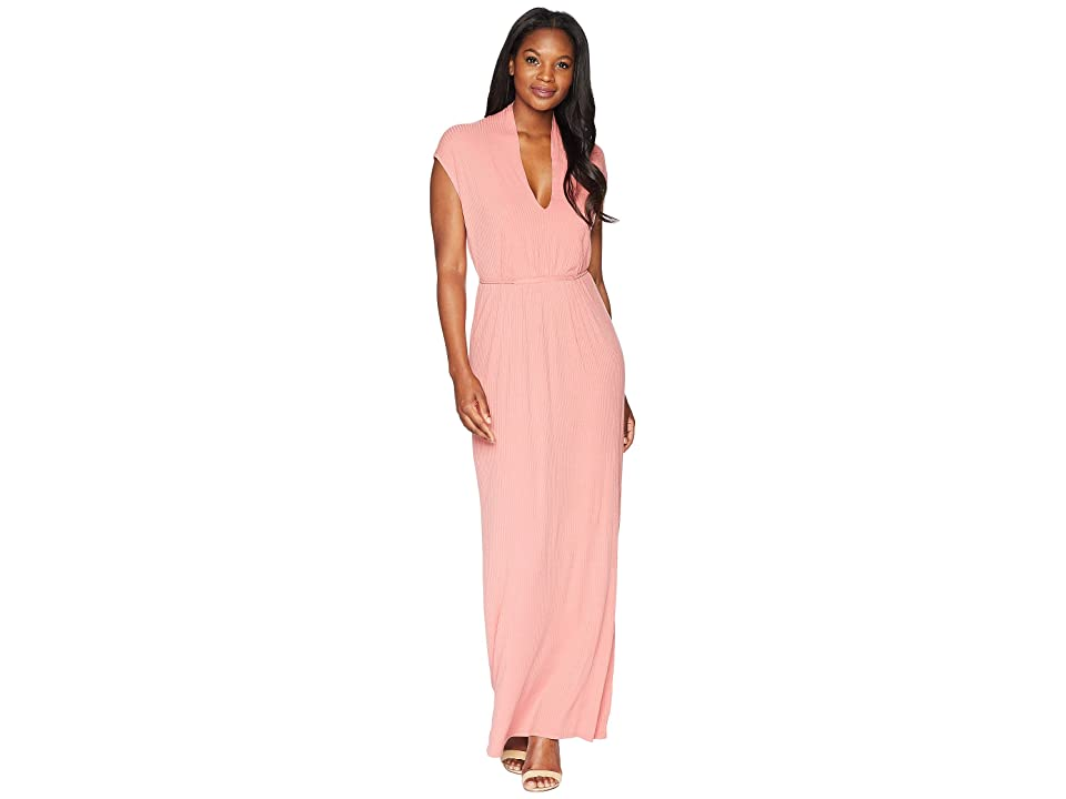 Lucky Brand Rib Dress (Rose) Women