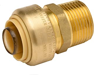 1 Push Fitting X-Large Brass Copper Zurn QQZBC55G Z-Bite Coupling Pack of 6