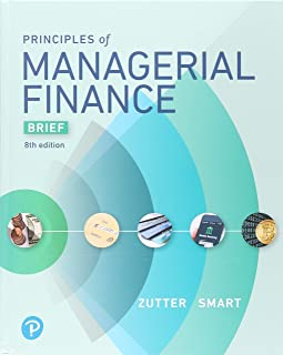 Principles of Managerial Finance, Brief Plus Mylab Finance with Pearson Etext -- Access Card Package