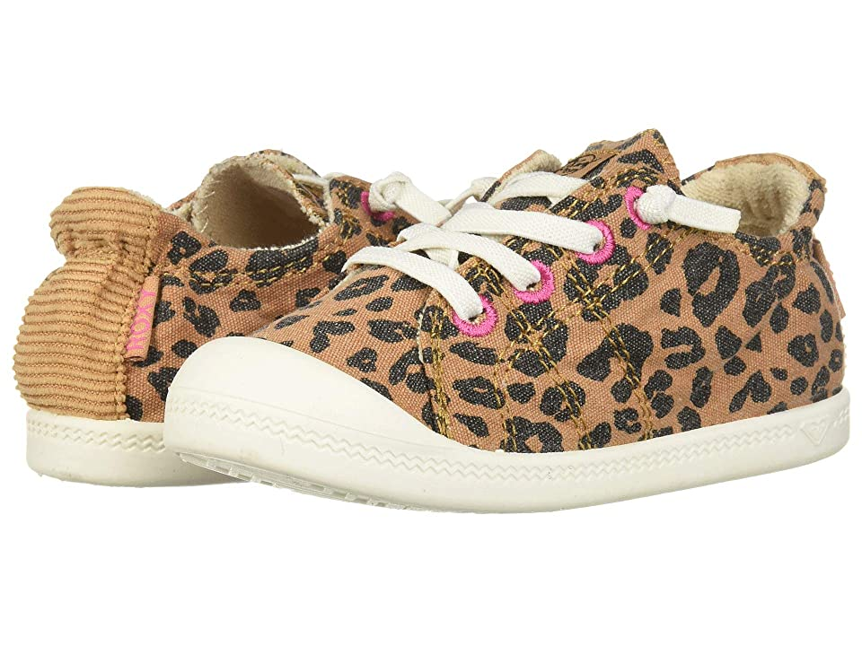 Roxy Kids TW Bayshore (Toddler) (Cheetah Print) Girl