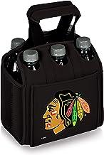 NHL Chicago Blackhawks Six Pack Insulated Neoprene Beverage Tote