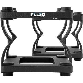 Fluid Audio DS8 Tischstativ 2 Stück Studiomonitor Höhenverstellbar Entkoppelung