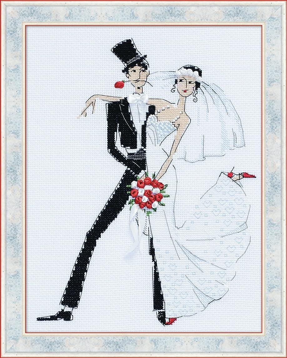 RIOLIS Wedding Tango Counted Cross Stitch Kit 7.75