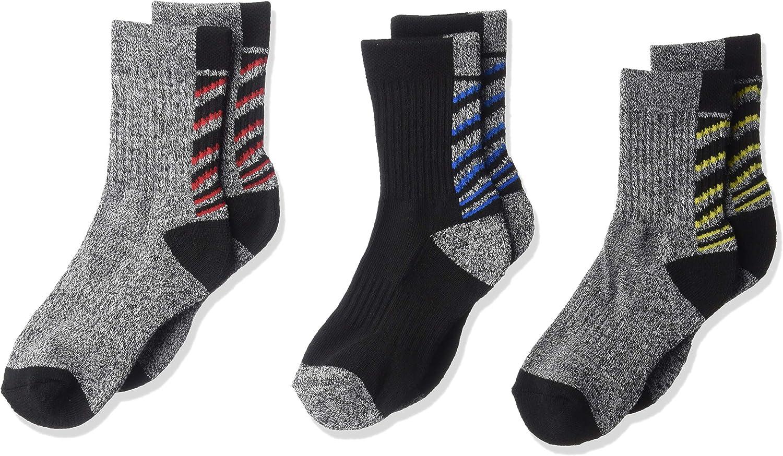 Spalding boys 3 Pack Crew Socks