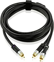 Mediabridge Ultra Series RCA Y-Adapter (8 Feet) – 1-Male to 2-Male for Digital..