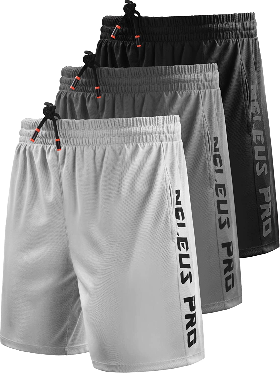 favorite Neleus Men's Lightweight Workout Al sold out. Running Shorts with Po Athletic
