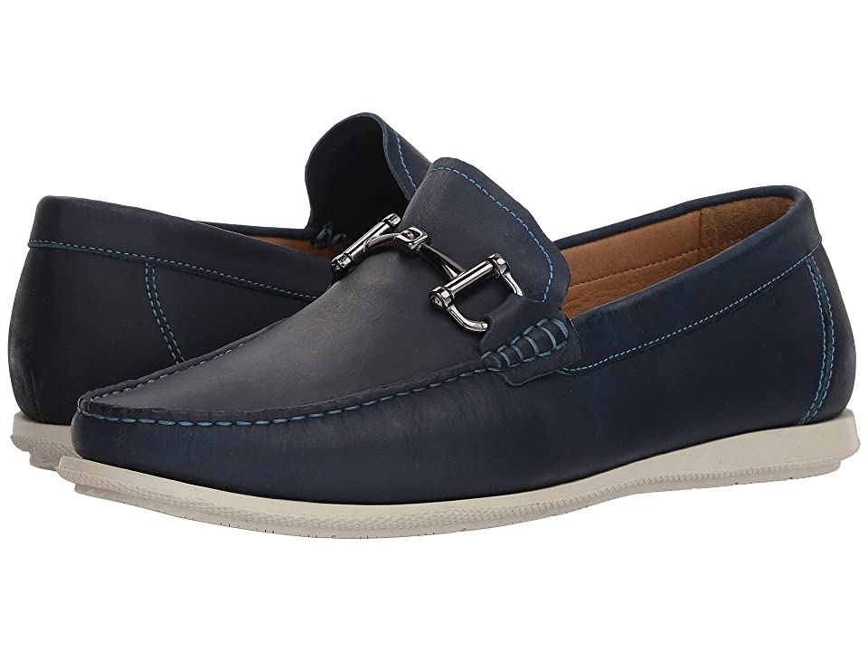 Massimo Matteo Oiled Nubuck Bit Driver (Royal Blue) Men