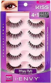 i Envy by Kiss So Wispy 03 Strip Eyelashes Value Pack #KPEM60