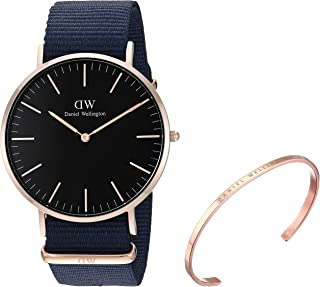 Gift Set, Classic Bayswater 40mm Watch with Classic Bracelet
