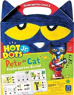 Educational Insights EI-2454 Hot Dots Jr. Pete The Cat Kindergarten Rocks! Set (Pack of 5)