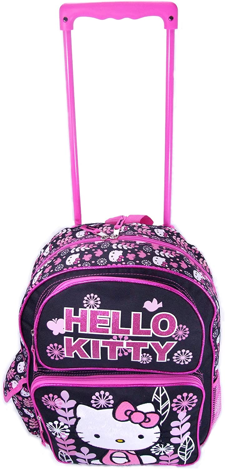 Sanrio Rolling Hello Kitty 12 Wheeled Backpack tChdsrQ