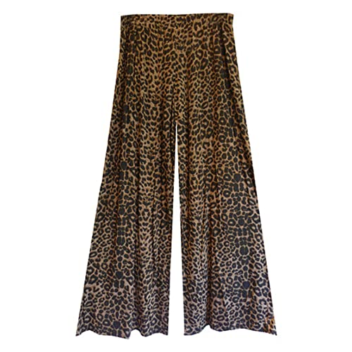 ce445fd6b2 Gothic Wide Leg Flattering High Waist Stretch Palazzo Pants Trousers in 16  Classic Styles Size