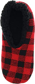 Polar Extreme Men's Fairisle Slippers, Sherpa Lined