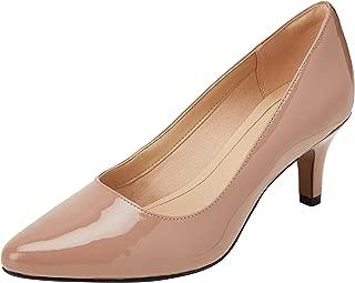 Clarks 女士 isidora 法耶高跟鞋