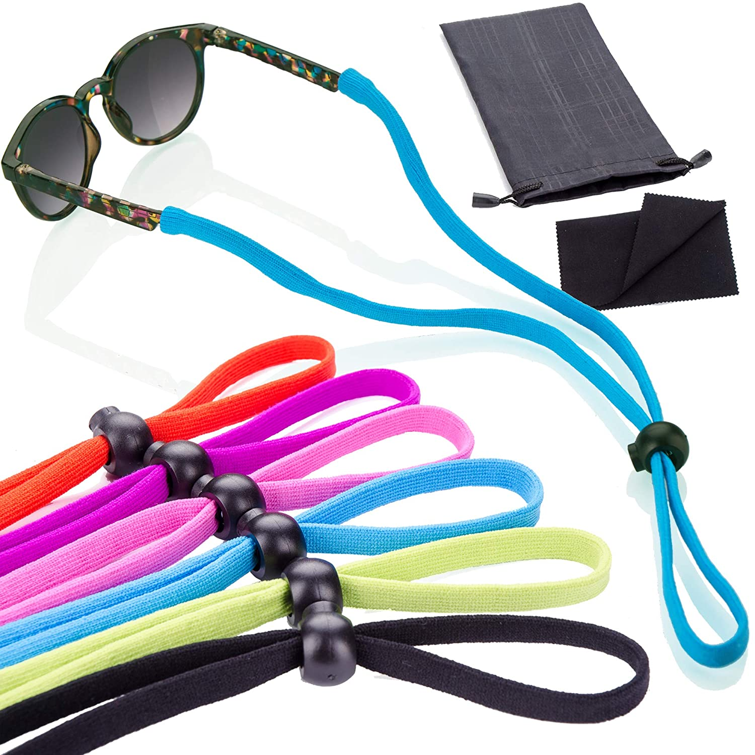 6 Pack Sunglass Glasses Straps Sales Univers Al sold out. Adjustable Stretchy and -