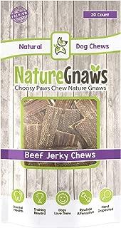 Nature Gnaws Beef Jerky Bites 3-4