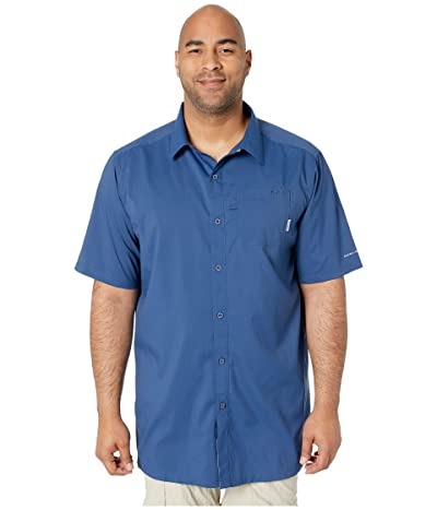 Columbia Big Tall Slack Tide Camp Shirt (Carbon) Men
