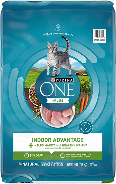 Purina ONE Indoor Advantage Adult Cat Food | Chewy