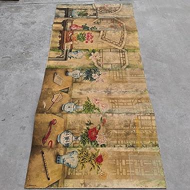 LAOJUNLU Large Album Castiglione Bo Ancient Screen Antique Masterpiece Collection of Solitary