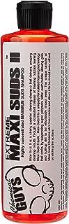 Chemical Guys CWS_101_16 Maxi-Suds II Super Suds Car Wash Shampoo, Cherry Scent (16 oz)