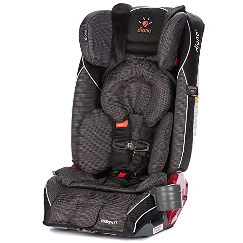 Diono Radian RXT All-in-One Convertible Car Seat, For Children from Birth to 120 Pounds, Shadow (Discontinued by Manufacture)