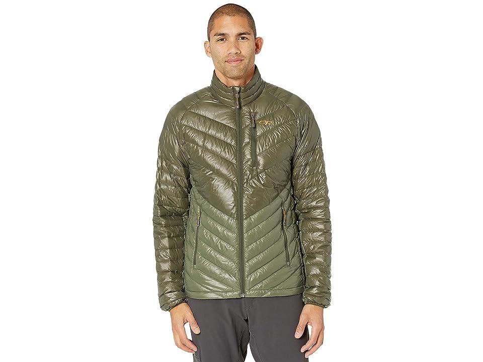 Outdoor Research Illuminate Down Jacket (Juniper/Basil) Men