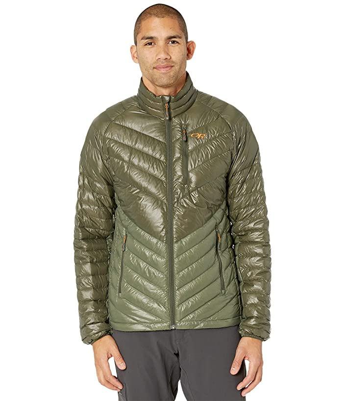 Outdoor Research Illuminate Down Jacket (Juniper/Basil) Men