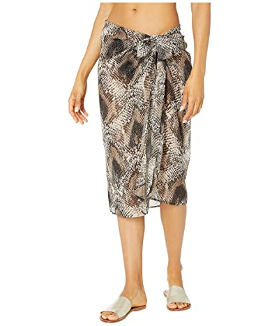 Bleu Rod Beattie Skin Games Pareo Cover-Up (Snake) Women
