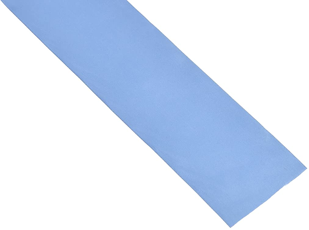 Schiff Ribbons 244-16 2-1/4-Inch Polyester Single Face Satin Ribbon, 20-Yard, Lace Blue