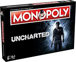 Winning Moves Games Uncharted Monopoly Board Game