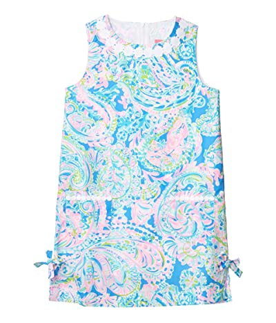 Lilly Pulitzer Kids Little Lilly Classic Shift Dress (Toddler/Little Kids/Big Kids) (Multi Dream Team) Girl