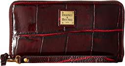 Dooney & Bourke Pembrook Large Zip Around Wristlet