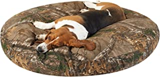 PawTex Round Realtree Xtra Camo Dog Bed, 50