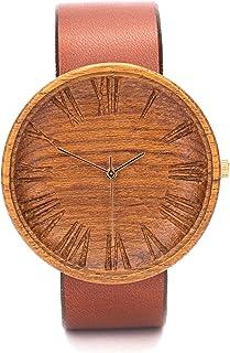 Reloj de Madera Hombre, Ovi Watch, 42mm, Sostenible Hombres Regalos