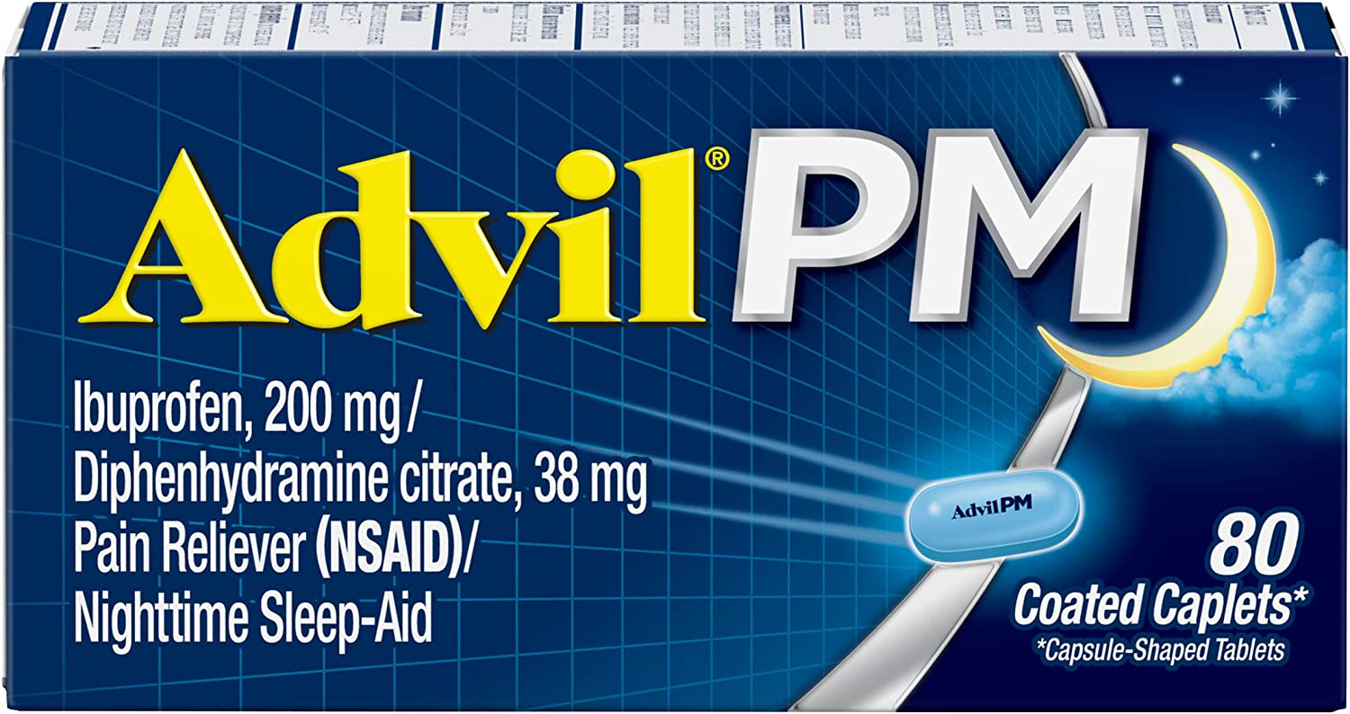 Advil Max 66% OFF Max 48% OFF PM Pain Reliever and wi Aid Medicine Sleep Nighttime