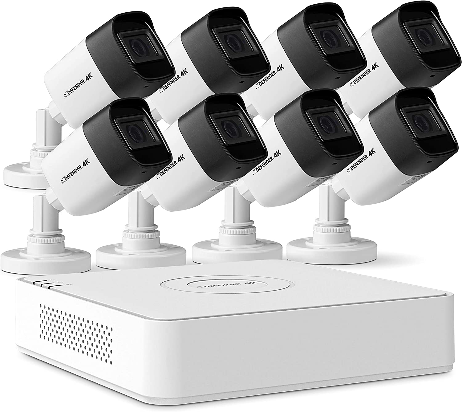Defender 4k Ultra HD Wired Reservation Vision Max 90% OFF Cameras- Security Night Mobil