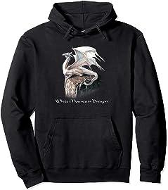 White Mountain Dragon Hoodie