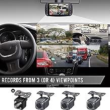 Eagle Eye Triple Dash Cam 3 Cam 1080P GPS Dashcam System, No Memory Included, Add 4th Camera, No Warranty