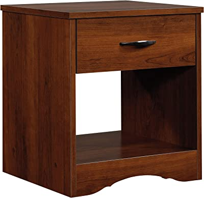 Sauder Beginnings Night Stand, Brook Cherry finish